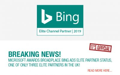 Microsoft awards Broadplace Advertising Elite Status in the Bing Partner Program