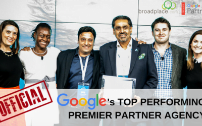 Google Names Broadplace As Top Performing Premier Partner Agency in UK