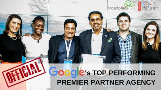 Google's top performing agency