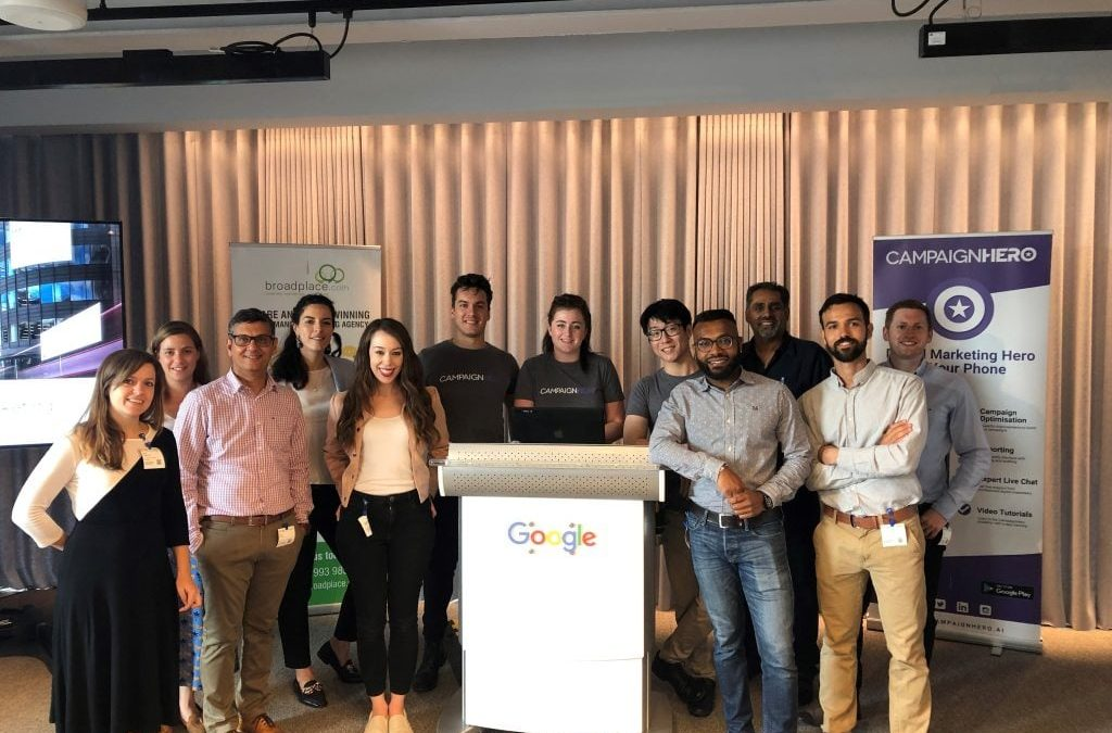 Broadplace and CampaignHero at Google