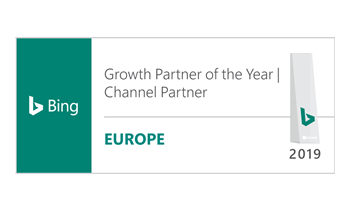 Microsoft 2019 EMEA Growth Channel Partner of the year