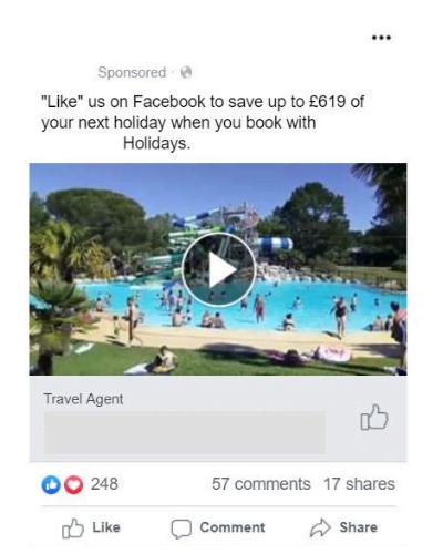 Facebook video creatives