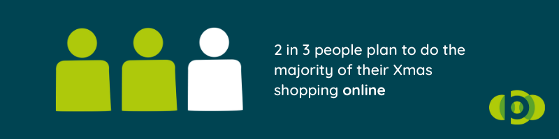 2 in 3 people plan to do their Xmas shopping online
