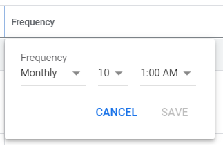 How to schedule your Google Ads script