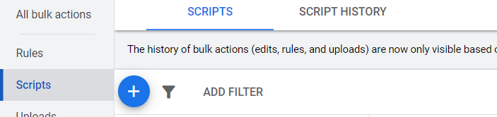 How to upload a Google Ads Script
