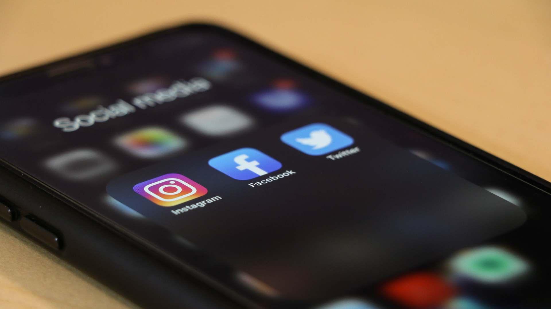 Share something on social media